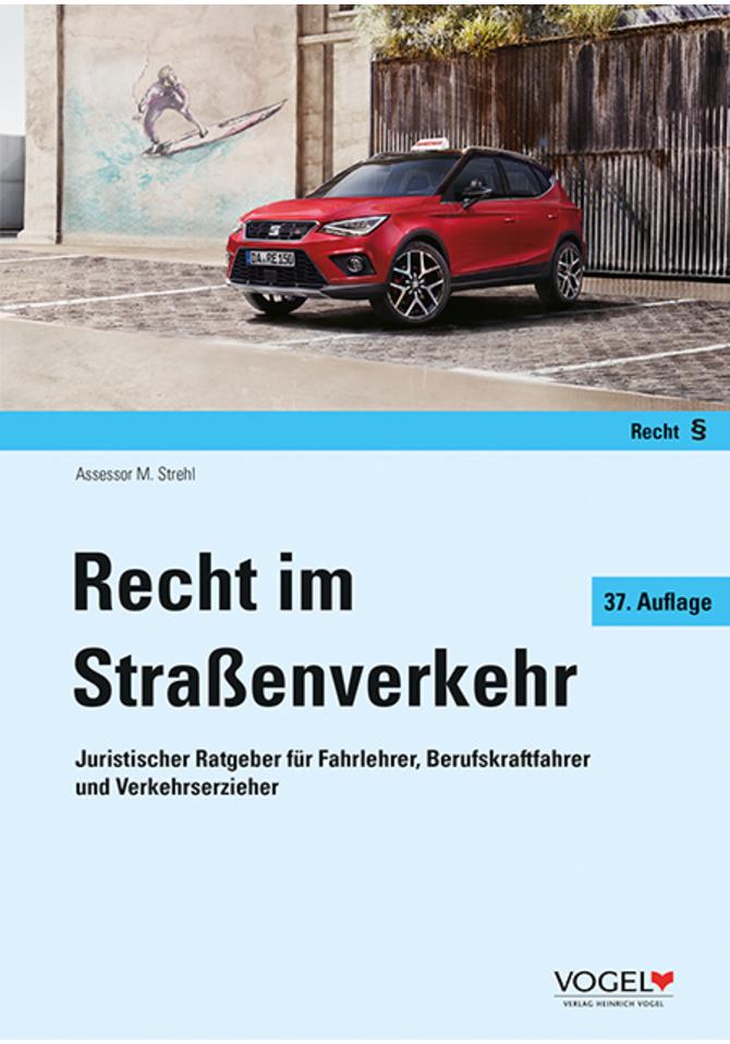 Buchcover Recht im Straßenverkehr